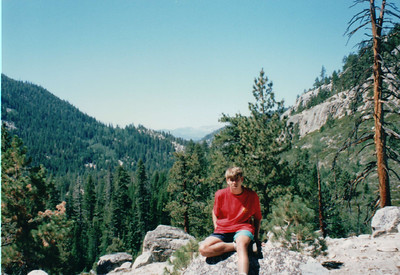 1994 - High Sierra Backpack Trip, Morgan Pass, Devil Postpile