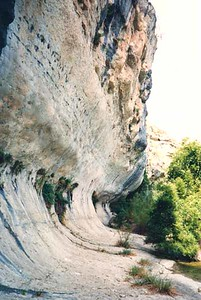 ERODED CLIFF