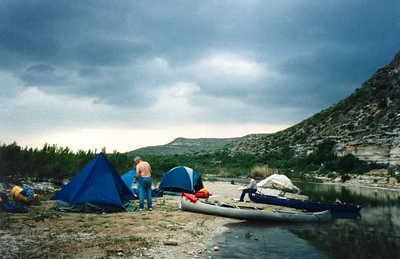 SECOND CAMP (APPROACHING STORM)