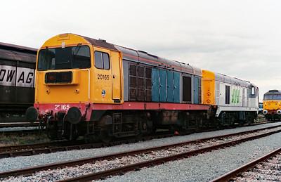 20 165 at Basford Hall Yard on 20th August 1994