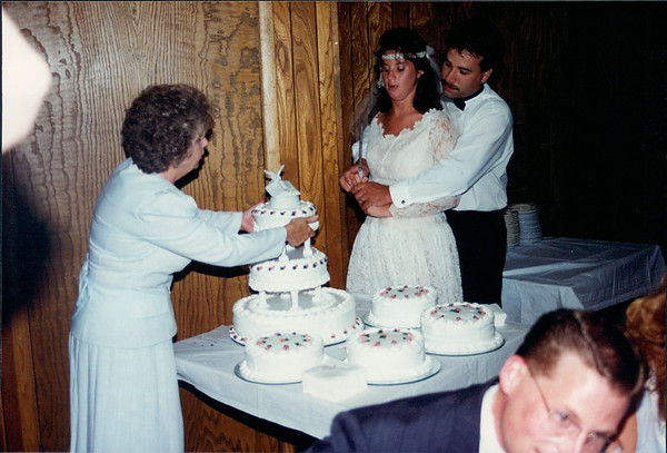 Dan and Jenny's Wedding July 23, 1994