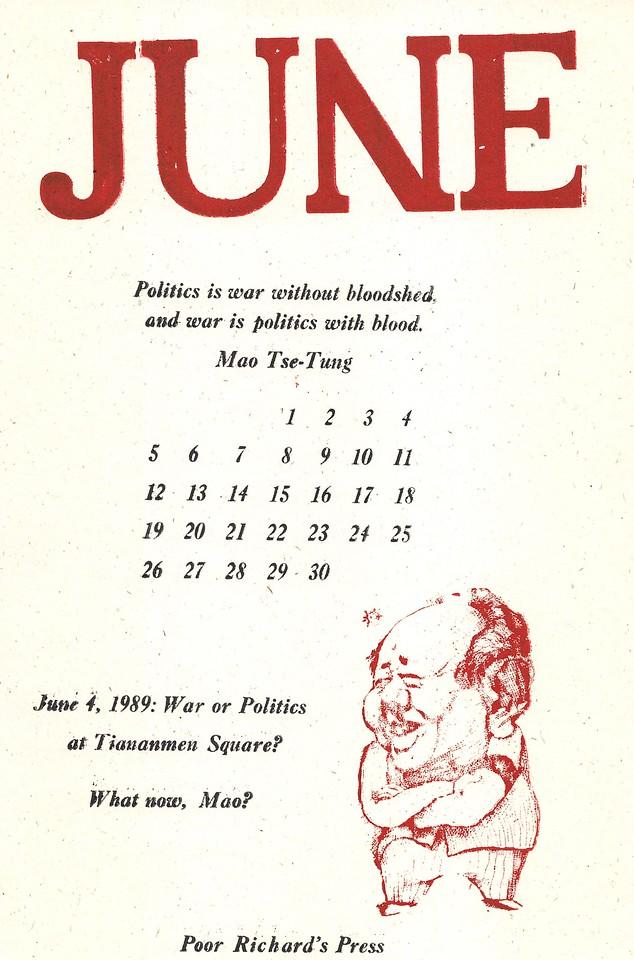 June, 1994, Poor Richard's Press