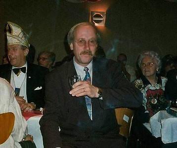 Ed VM Kokke met links Wim Zink bij het Schlagerfestival