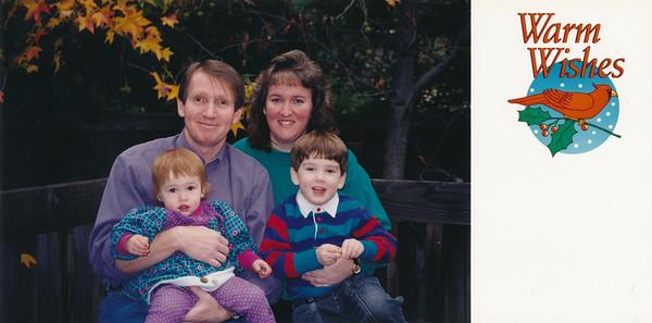 1994 Christmas card