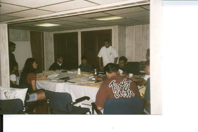 YJA Board/Planning Meeting - August 1995 - at Nikhil Shah's basement in NJ