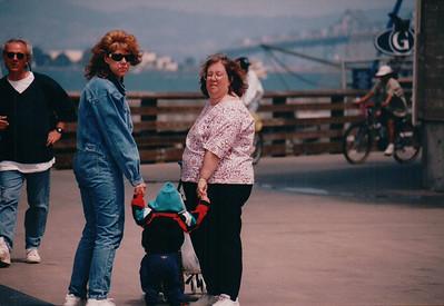 San Francisco with Kathy, Stephanie & Michael