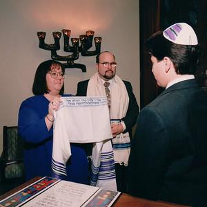 Matthew's Bar Mitzvah  December 21, 1996