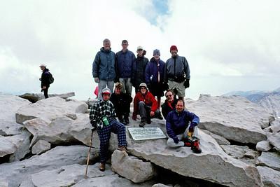 9/1/1995 ~ 9/3/1995 - Mt. Whitney Hike Part I