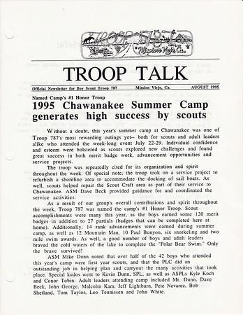 1995 Troop Talk