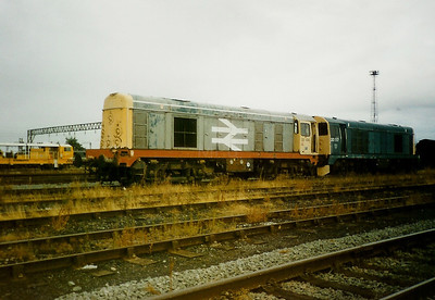 20 104 at Crewe Basford Hall Yard, 26th August 1995