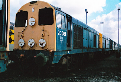 20 081 at Wigan Springs Branch Depot on 19th March 1995