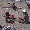 1995-07-22 Josh Klein - With Lou, Lori, and Amanda Korth at Salt Creek Beach
