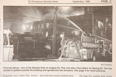 Emergency Services News - September 1995