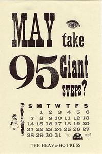 May, 1995, Heave-Ho Press