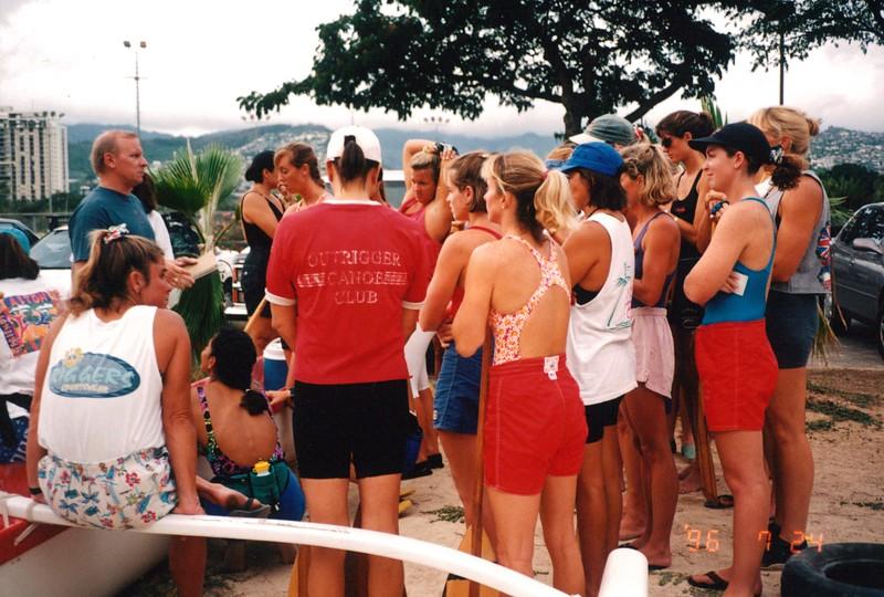 1996 Upper Division Women