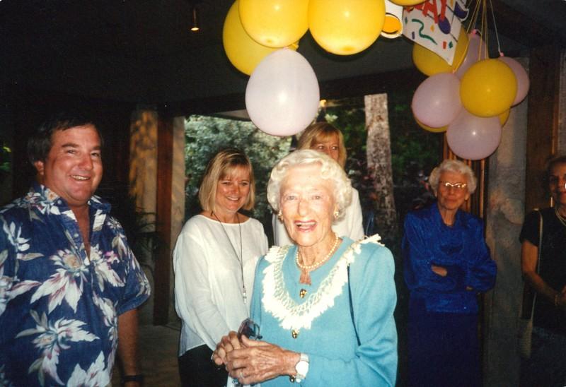 1996 Happy 90th Birthday Aileen Soule