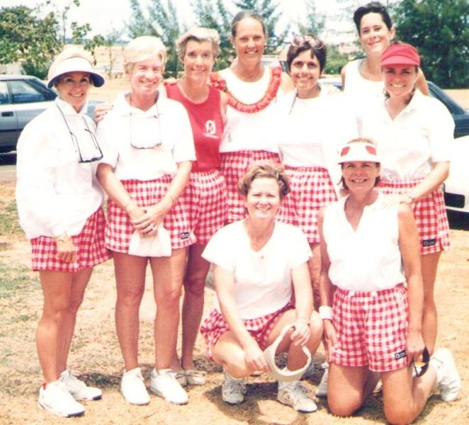 1996 OCC Tennis Team
