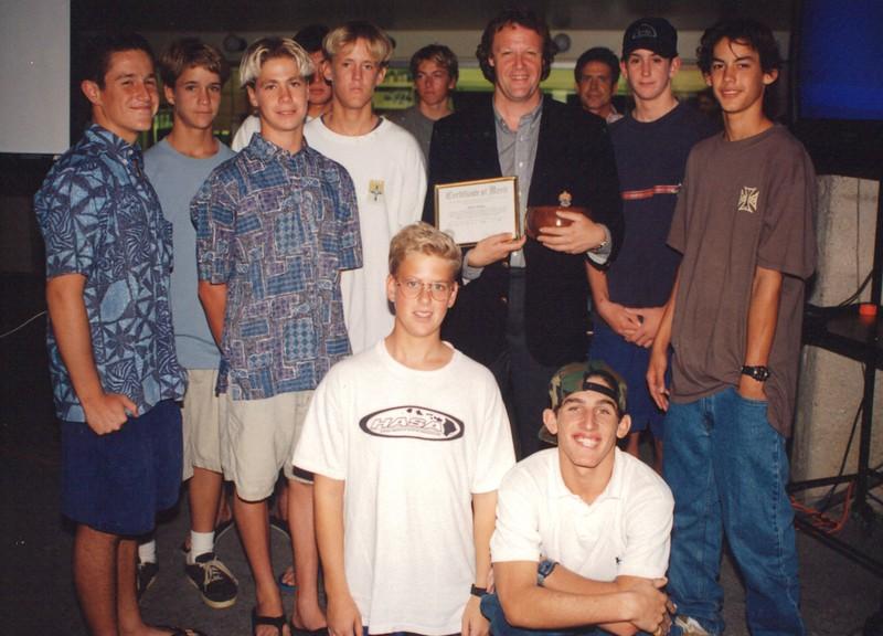 1996 OCC Surf Team