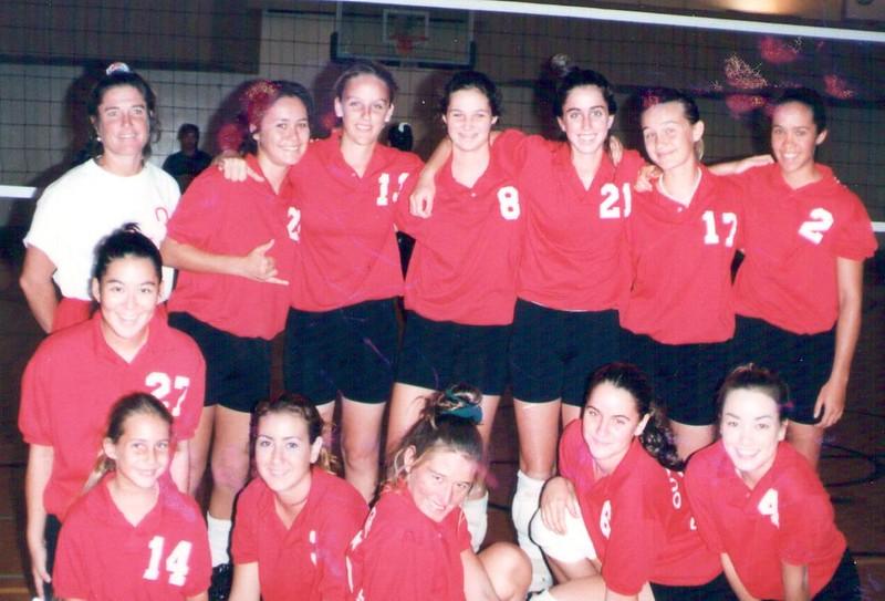 1996 Junior Women's Volleyball Team