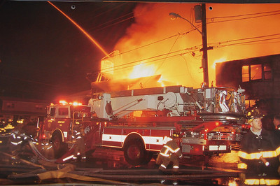 Fire Trucks in Action Calendar - 2002
