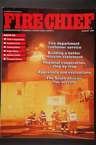 Fire Chief Magazine - August 1996