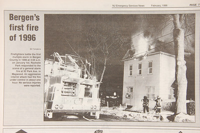 Emergency Services News - February 1996