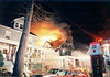 Rutherford 3-23-96 : Rutherford 2nd alarm at 217 Hasbrouck Blvd. on 3-23-96.  Photos by Chris and Bill Tompkins