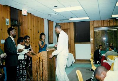 Summer Bridge Program Closing Ceremony - 1996