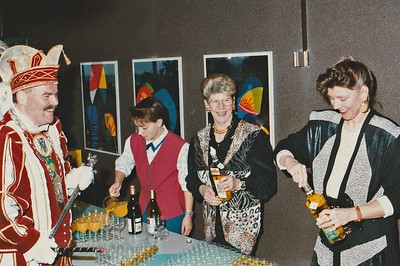 Verjaardag van Prins Peter den Eerste bij de ABN/AMRO-bank