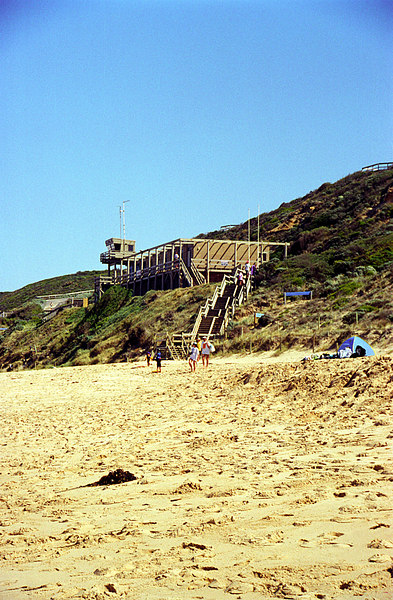 1998 early Portsea SLSC Clubhouse 05