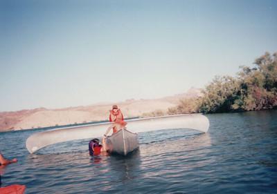 1997 - Colorado River Canoe Trip