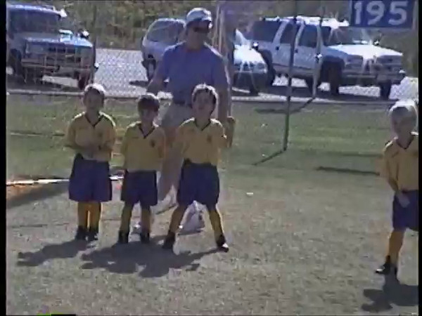 1997 Fall Josh Klein's Golden Gladiators Soccer Game