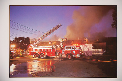 Fire Trucks in Action Calendar - 1999