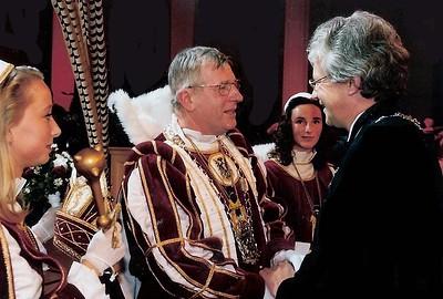 Prinsenproclamatie met loco-burgemeester Ronald Migo