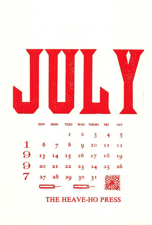 July, 1997, Heave-Ho Press