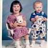 1997 Joey Age 1 Chrissy 4 yr 6 mos 7-9-96 1