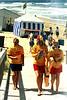 17 Jan 1999<br /> Portsea Back Beach<br /> Uncle Tobys Event<br /> L-R<br /> Jess Dunn<br /> Rebecca Jensen<br /> Karina Minns