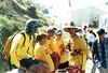 17 Jan 1999<br /> Portsea Back Beach<br /> Uncle Tobys Day<br /> L-R<br /> Ian P<br /> Mia Tobing<br /> Josh Silk<br /> Nick O'Halloran<br /> Ashton Latham