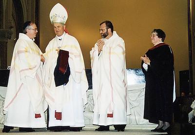 Cardinal Jozef Tomko Visits Saint Vincent