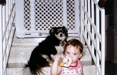Natalia hangs with Chelsea