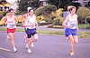 1998 Races - 1998 Garden City 10K - Finlayson leads a pack up the Dallas Road hill