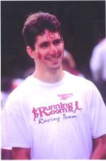 1998 Races - 1998 Garden City 10K - Alex Coffin gets his face painted