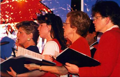 choir closeup