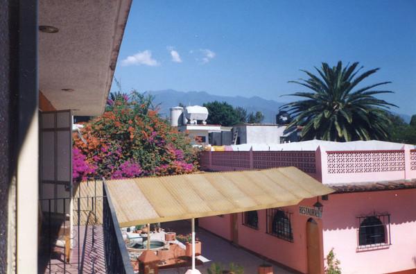 Hotel Balcony in Oaxaca