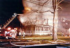 Oradell 1-21-98 : Oradell 3rd alarm at 555 Prospect Ave. on 1-21-98