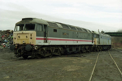 47676 and 47369 had also arrived as part of the same batch and wait there turn in the queue (08/02/1998)