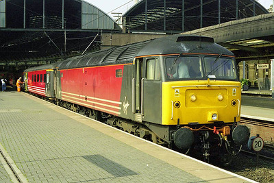 The following morning 47817 is seen at Newcastle after working 1E25 0855 from Derby (06/09/1998)