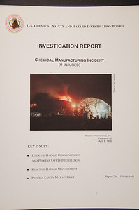US Chemical Safety and Hazard Investigation Report