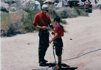 1999 - Joshua Tree Natioanl Park Rockclimbing
