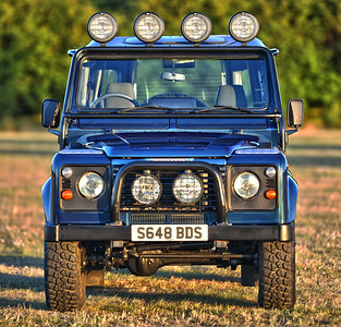 1999 Land Rover Defender V8 50th anniversary S648 BDS